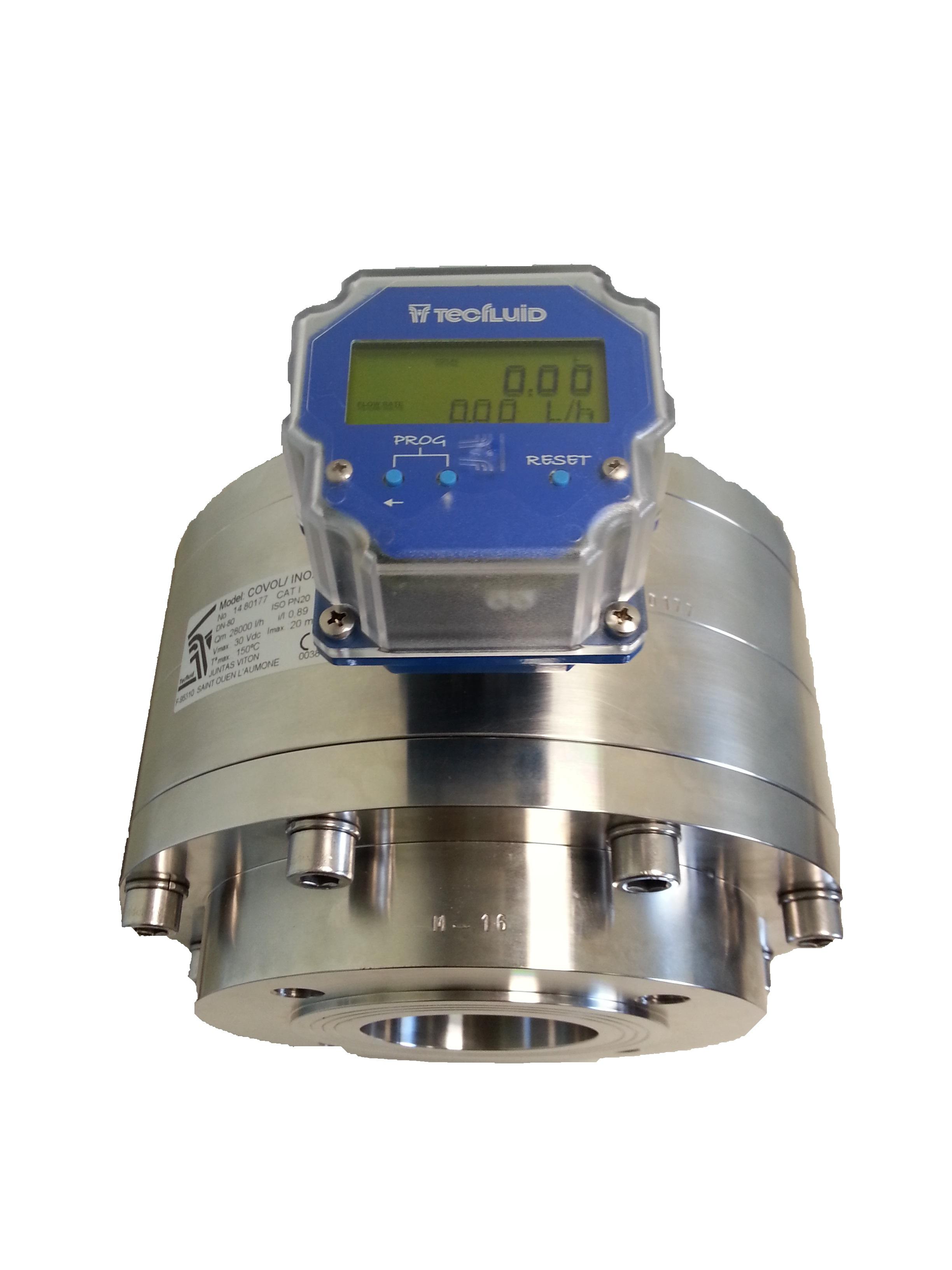 Covol et transmetteur de débit CP420L