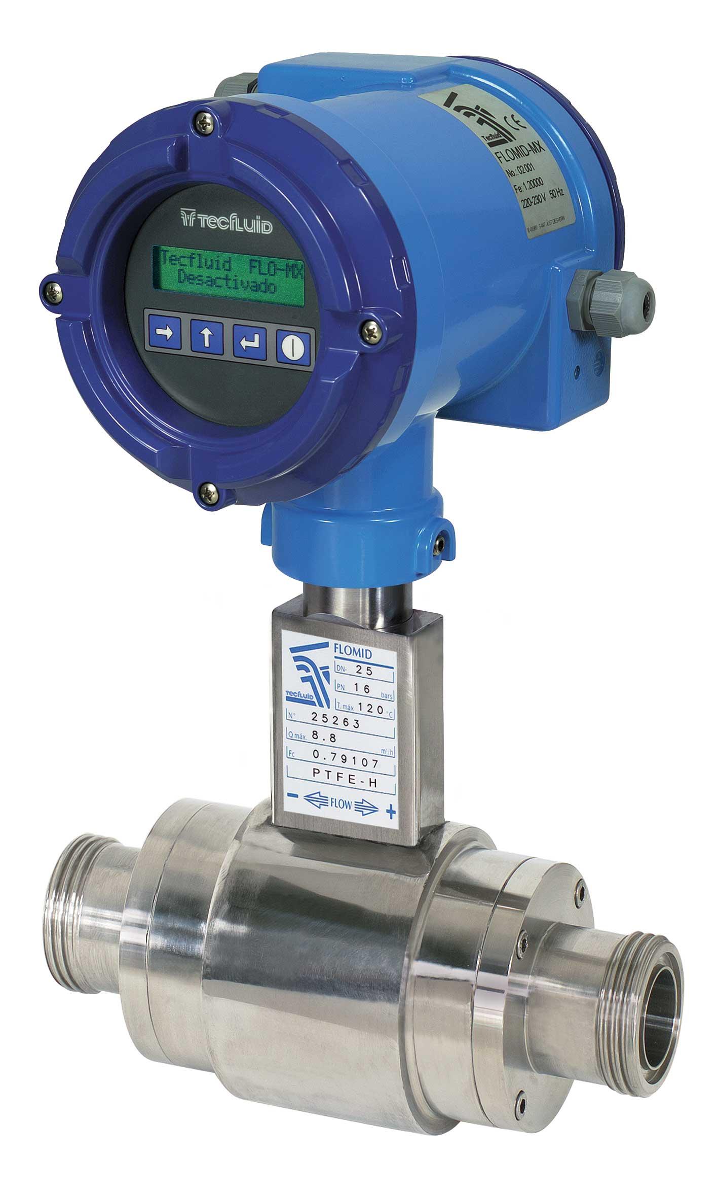 Débitmètre électromagnétique Flomid 1FX MX4