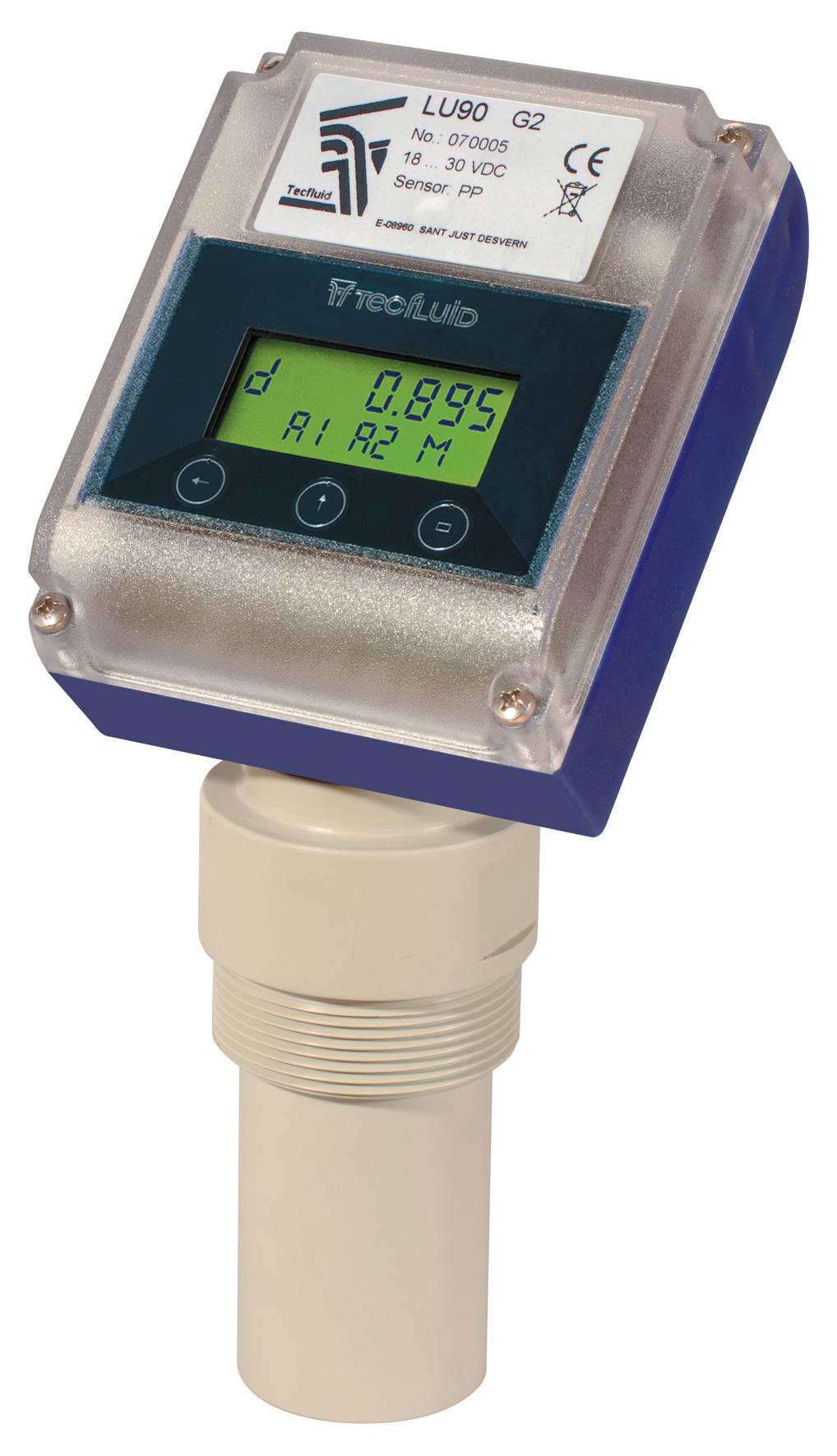 Indicateur / Transmetteur de niveau LU90 PP
