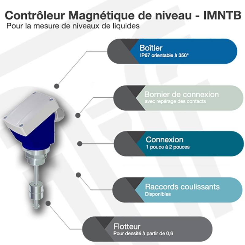 Contrôleur magnétique de niveau - IMNTB